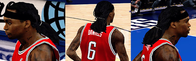 NBA 2K13 Marquis Daniels Cyberface Patch
