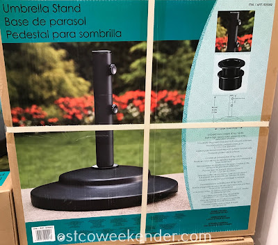 Costco 925362 - Complete your outdoor patio set with an Umbrella Base