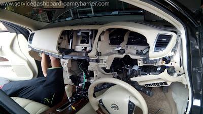 service dashboard camry