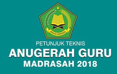 juknis anugerah guru madrasah 2018