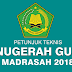Juknis Anugerah Guru dan Tenaga Kependidikan Madrasah Tahun 2018