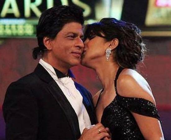 Priyanka Chopra with Shahrukh Khan