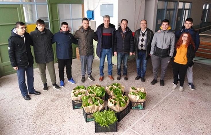 Κοινωνική δράση αλληλεγγύης από τους μαθητές του ΕΠΑΛ Ορεστιάδας
