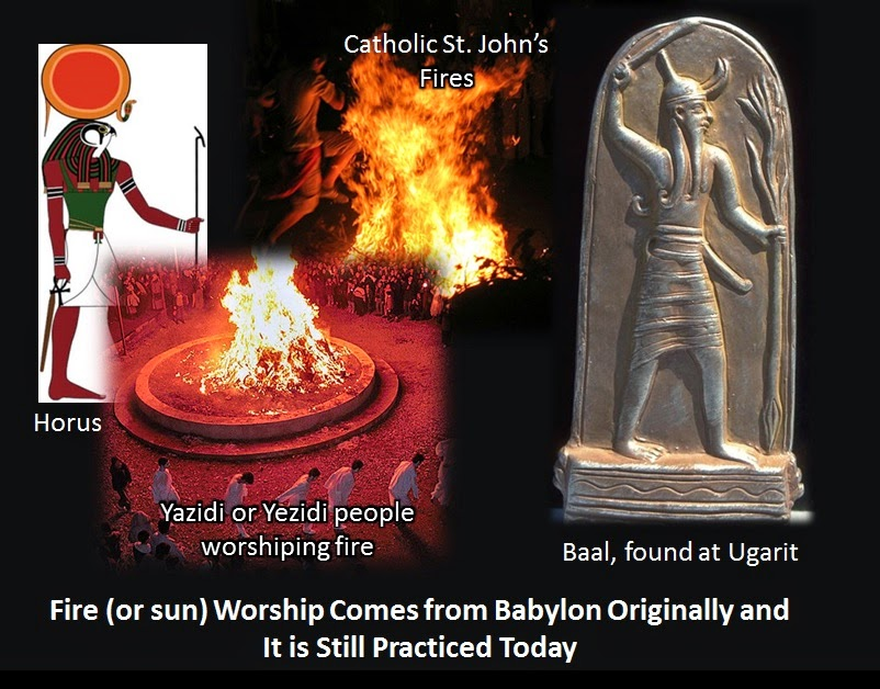End Times Blog  Fire Worship  the Illuminati  and Babylon  Masons     Fire Worship  the Illuminati  and Babylon  Masons and Mystery Religion  Exposed