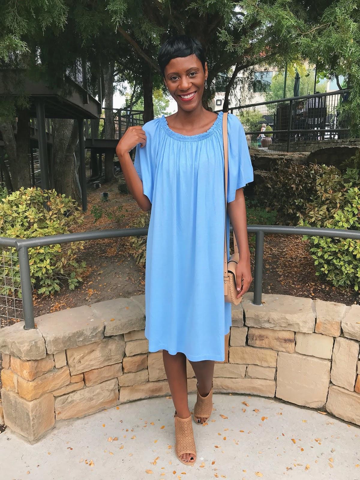Little Blue Dress On A Monday