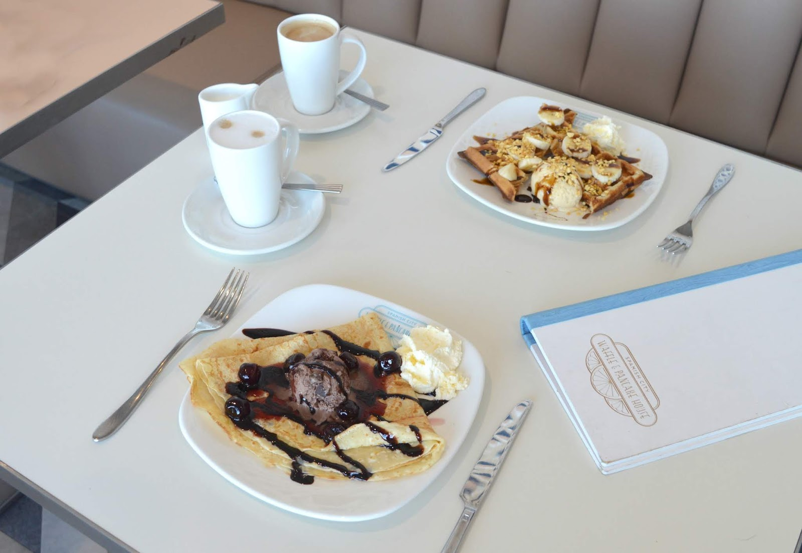 The Waffle and Pancake House, Spanish City, Whitley Bay