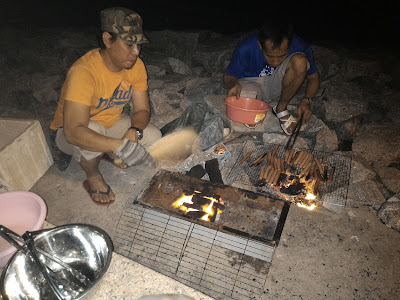 BBQ At Pantai Bagan Lalang