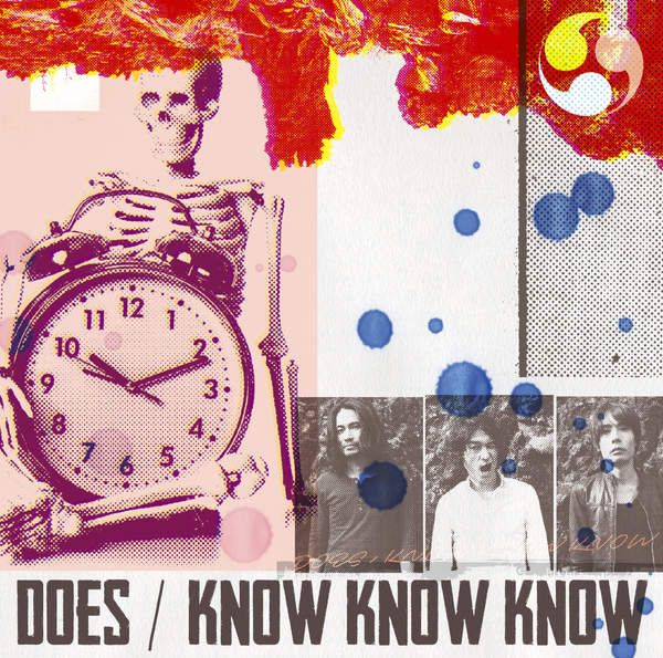 [Single] DOES – KNOW KNOW KNOW (2016.03.02/MP3/RAR)