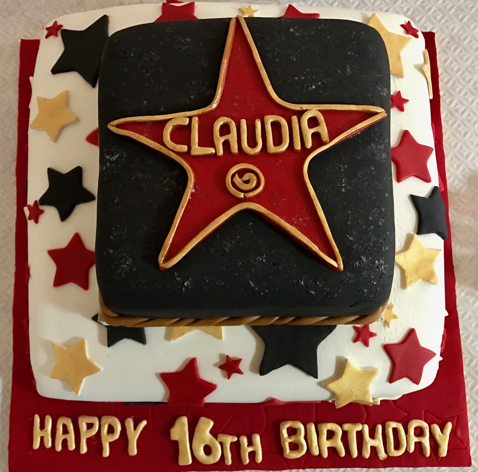 22nd Birthday Ideas In November: Cake Creations: Claudia's 16th Birthday ��, 22nd February 2017