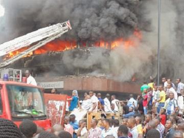 GUNMEN STORM NTA ONITSHA OFFICE, BURN DOWN BUILDING (PHO