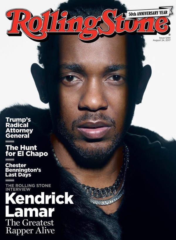Kendrick Lamar talks DAMN, Trump & Beyoncé as he Covers Rolling Stone Magazine