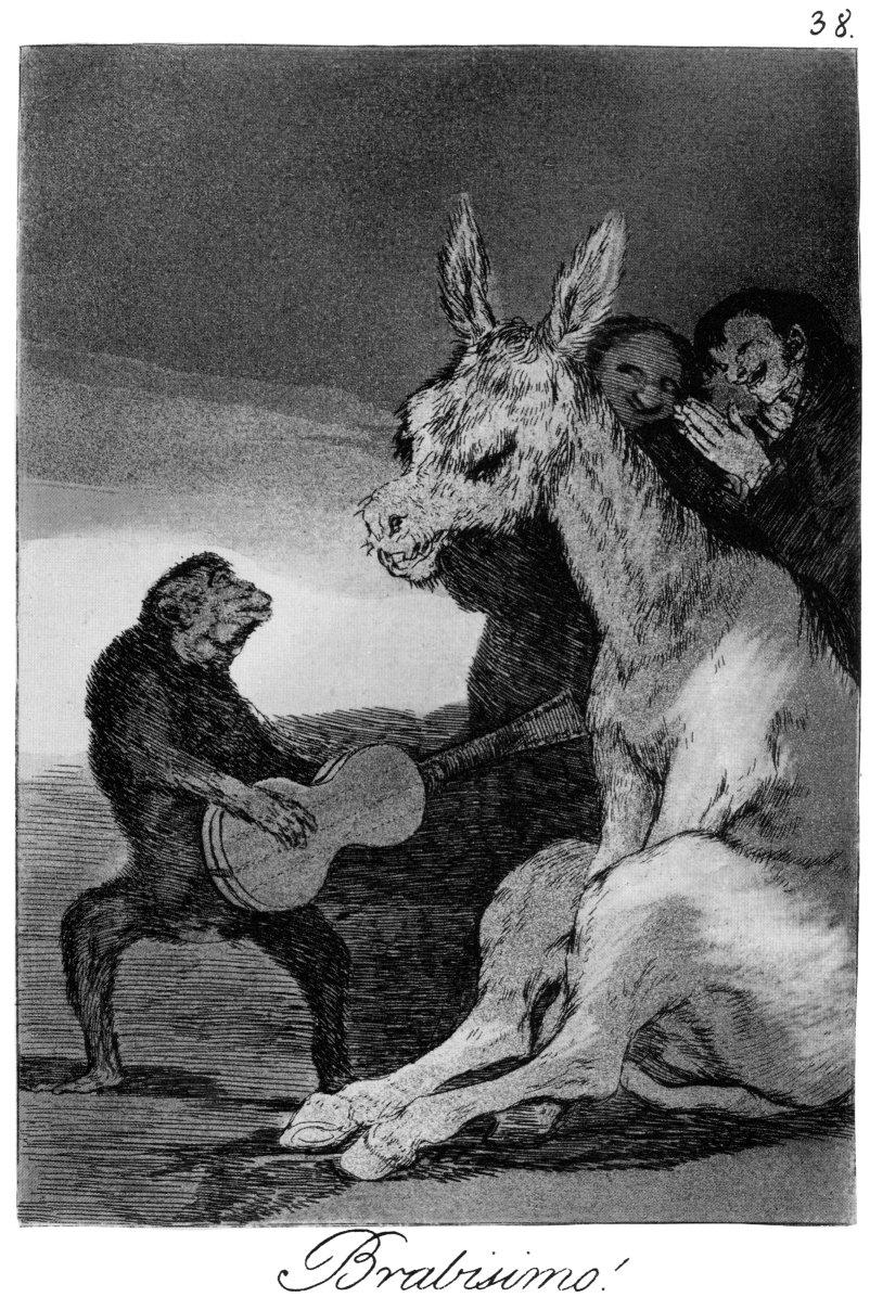 Francisco Goya, Bravo!, Los Caprichos no. 38 | Francisco ...