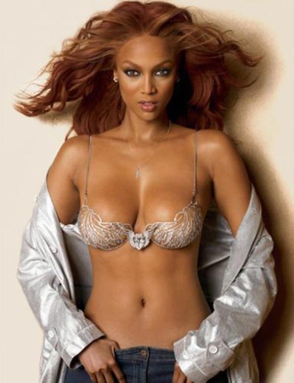 model Tyra banks nude