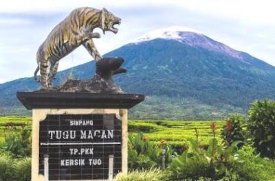 gunung Indonesia, jalur pendakian gunung, gunung terindah di Indonesia, gunung kerinci