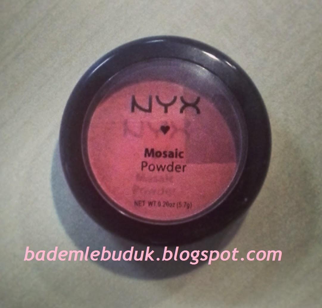 NYX Mosaic Powder Blush - LOVE-Bademle Buduk - Anne Yaşam ...