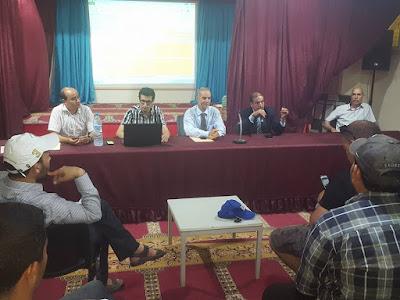 انتهاء توزيع المناصب الشاغرة على الاساتذة الفائضين من الحركتين بالفقيه بن صالح