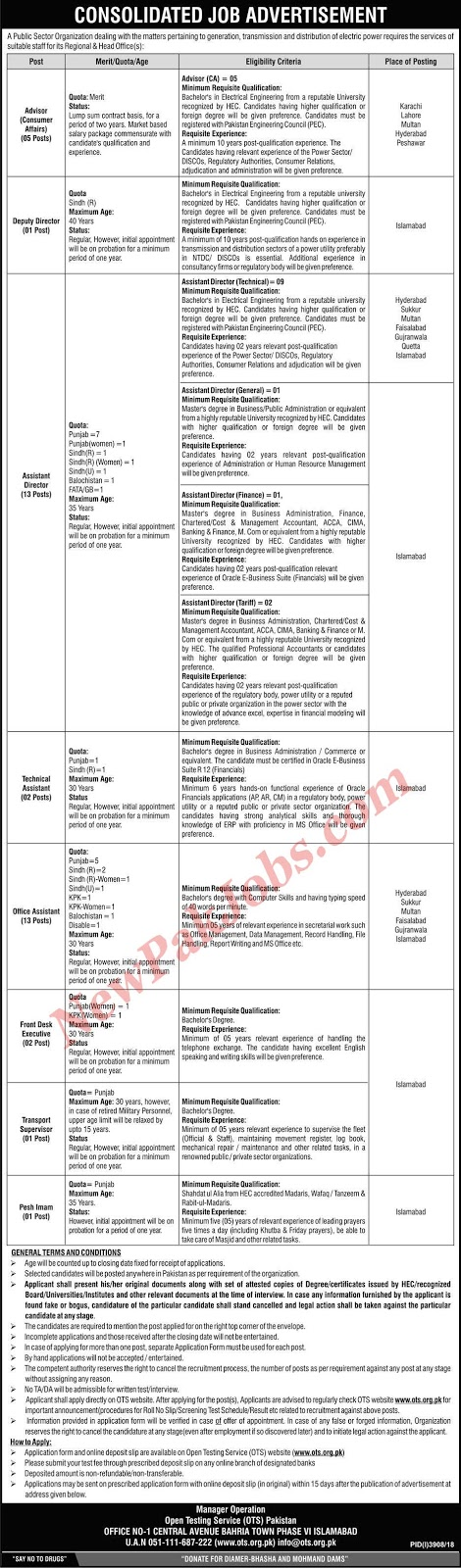 Government Jobs in Pakistan 2019