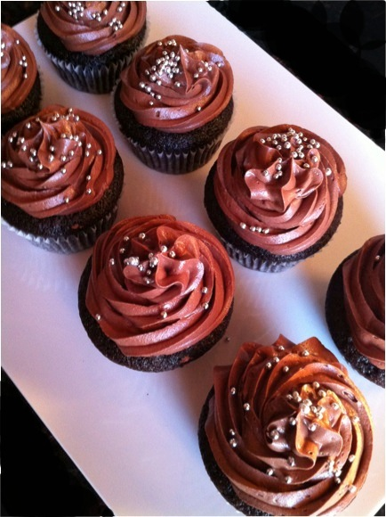 Taste Dark Chocolate Cupcakes With Chocolate Ganache And