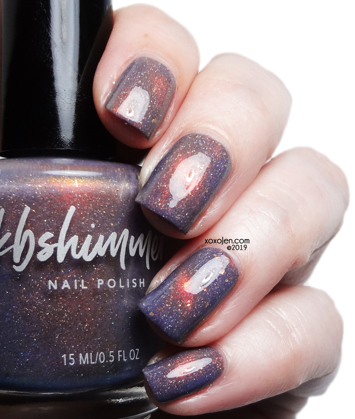 xoxoJen's swatch of KBShimmer Wave After Wave