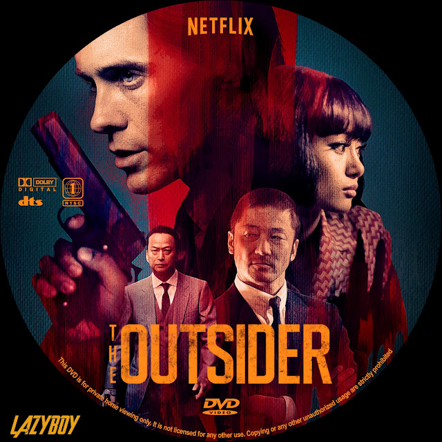 The Outsider Dvd Label Cover Addict Free Dvd Bluray