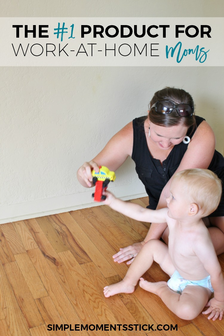 I never planned on being a work-at-home mama.  In my dream world I'd be home with my little guy, soaking in his snuggles and being totally fulfilled by my role as a mother.  Not so much!  Click through to find out what one product has been a game changer for my WAHM life!