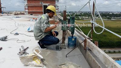 Khoan cắt bê tông tại huyện Gò Công Tây