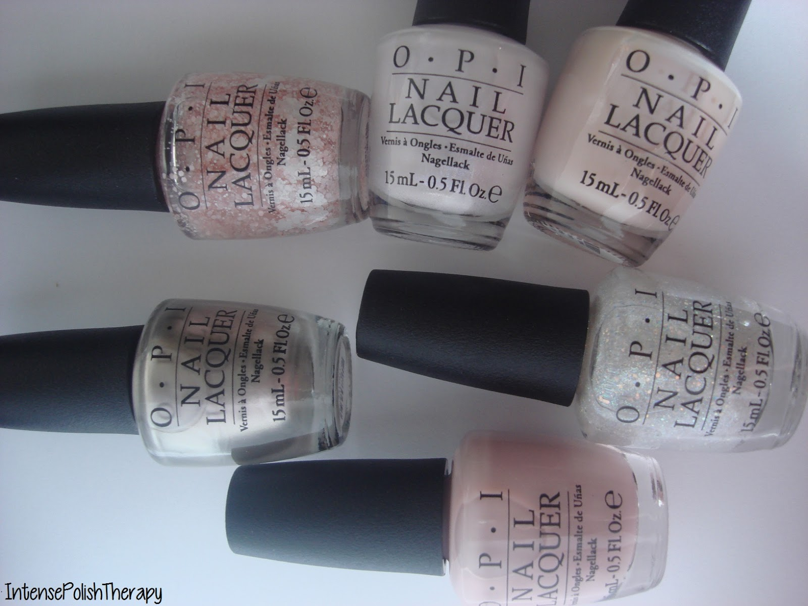OPI - Soft Shades 2015 Collection Swatches