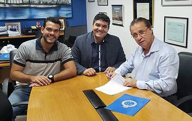 e6d08243a3 Cruzeiro fecha patrocínio para camisa em 2019