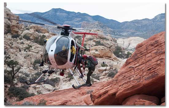 Hiker 15 tuổi được giải cứu bằng trực thăng