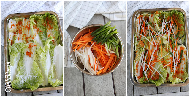 etapy kiszenia kimchi