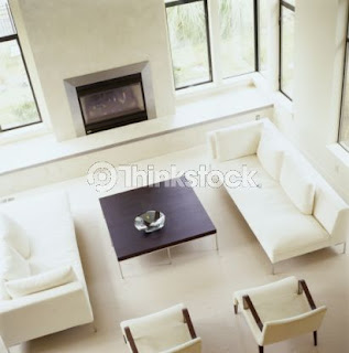 Notranja oprema stanovanja ali hiše. Dnevna soba.