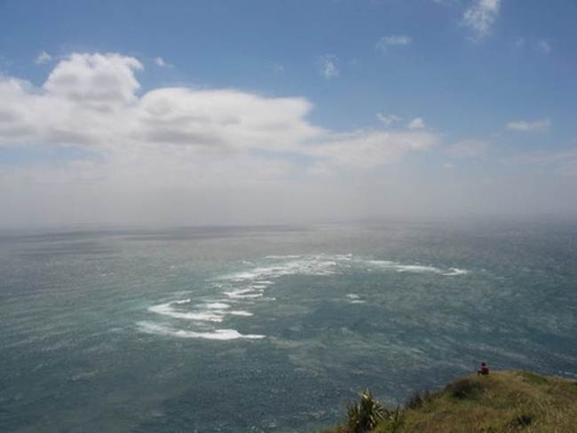 Tasman Sea and Pacific Ocean