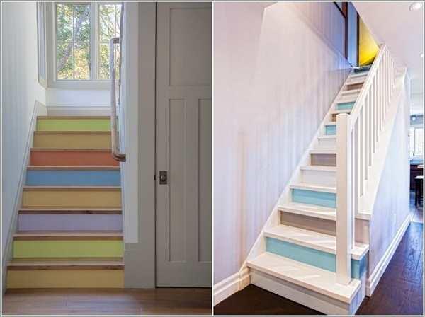 Trang trí bậc tam cấp cầu thang