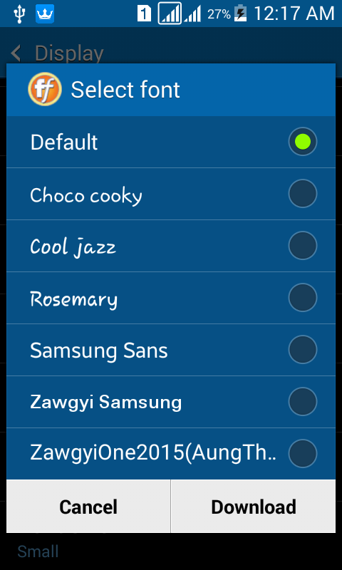samsung galaxy fonts apk download