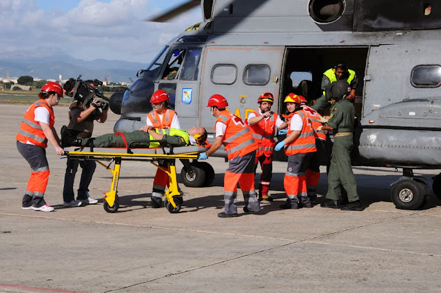 Ejercicio 'Baleares Search and Rescue' del Ejército del Aire.