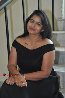 Telugu Actress Swathi Reddy Latest Stills in Black Gown  0072.JPG