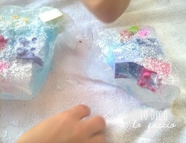 come fare blocco di ghiaccio