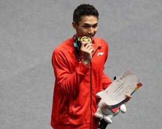 Fakta Unik Tentang Jonatan Cristie, Atlet Bulutangkis Peraih Emas Asian Games 2018! Ternyata Pernah Main Film Loh!
