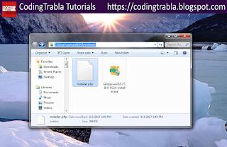 Install HTMLy 2.7.4 flat-file CMS / Blog on Win7 localhost via XAMPP ( PHP7 ) 8