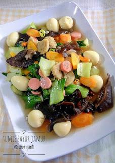 Ide Resep Masak Tumis Sayur dan Jamur