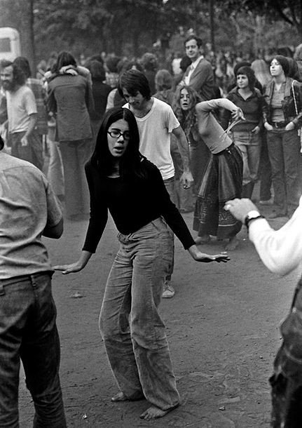 Dancing In The Park 1970s Vintage Everyday