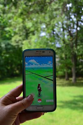 memilih lokasi pokemon go