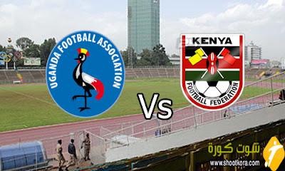 المنتخب الاوغندى فى لقاء ودي امام المنتخب الكيني فى اطار الاستعدادات لتصفيات امم افريقيا