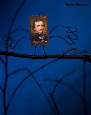 Meme de humor sobre El cuervo de Poe
