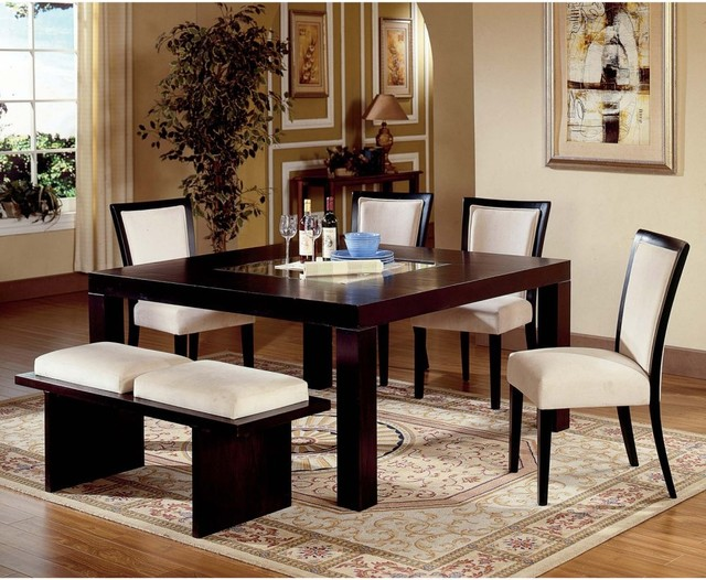 DINING ROOM SETS WITH BENCH LONG ISLAND NEW YORK