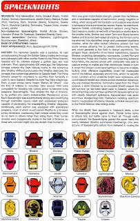 Spaceknights Comics
