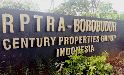 RPTRA Borobudur menjadi tempat umum untuk senam kebugaran