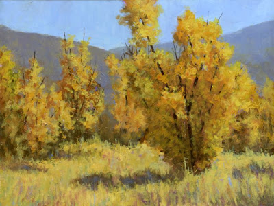 art painting landscape acrylic autumn fall foliage nature