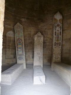 Mausoleo de Yeddi Gumbaz. Interior
