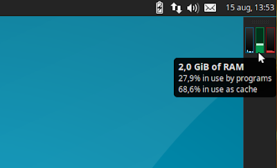 Multiload system monitor Xubuntu (Xfce)